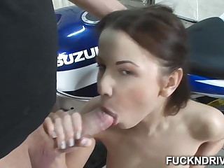 Main that loves anal realize a dick in her penny-pinching ass cleft