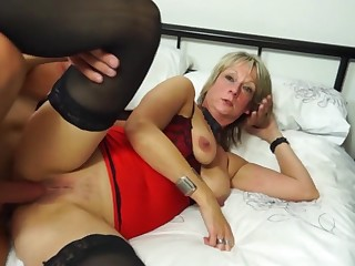 British Housewife Fucks Youth - mother I´d like anent fuck