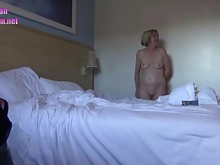 Travelodge hotel hidden cam mommy wife - mommy