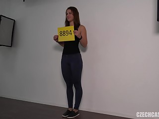 Beautiful College Girl Fucks During Be in command Shoot