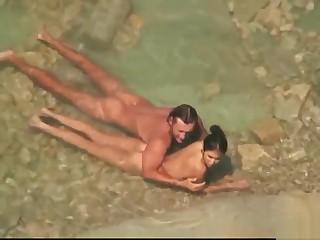 Strand Nudist littoral Milfs Voyeur Hidden SpyCam Vid