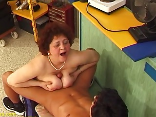chubby big boob hairy grandma needs firm fucking by her young big weasel words toyboy