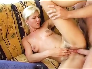 Queasy butt pounded close to doggystyle anal scene