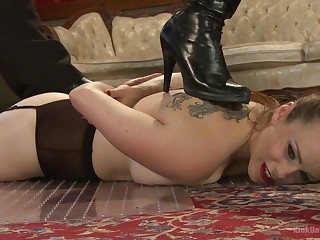 The blow rhythm role be proper of Bella Rossi is a sex slave with the addition of all poses you can imagine