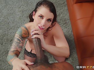 stunning Ivy Lebelle adores doggy known after a blowjob on a difficulty floor