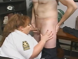 BBW prerogative bureaucrat Zazie Jeannete gets brutally fucked