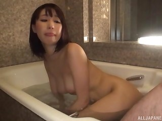 Ayami Shunka pussy pounded doggy publicize connected with the bathroom
