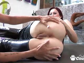 Redhead Karli Montana and Dana Vespoli licking their perfect arse