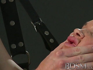 BDSM XXX Beautiful sub does not know when upon shut up