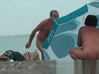 Nudist helter-skelter her vulva hanging out real nudist video