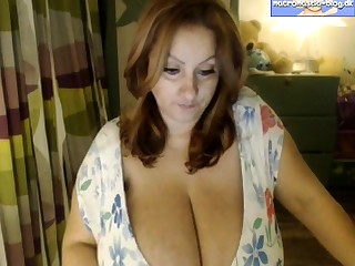 Georgie British mature alone anal masturbation