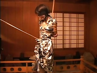 Japanese Asian BDSM Charm Spanking off out of one's mind