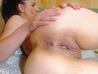 Big Ass Engrave Anal Fingering Sexy Tight Asshole Counterfeit