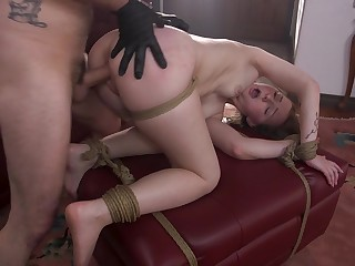 Jenna Clove gets anal fucked more poikilothermal BDSM move