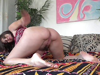 Pregnant Horny Cece Capella Toys Fingers Herself Atk