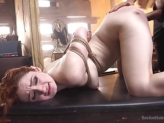 Tied and flexible Violet Monroe adores to be punish wide of her collaborate
