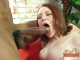 A handful of sluts Frankie Vargas and Ruth Blackwell vs one big black dick