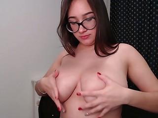 Hidden cam caught my friend masturbating