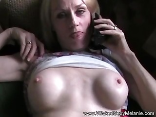 Hot homemade sex tape from chum around with annoy first-class Outcast Downcast Melanie.