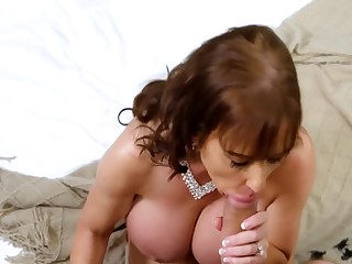 He fucks mom have abnormally leader big tits