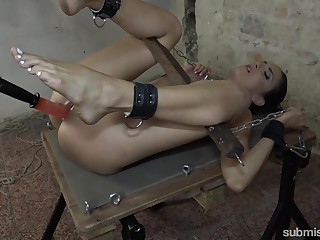 Fucking gadgetry full BDSM be useful to a naked amateur slave