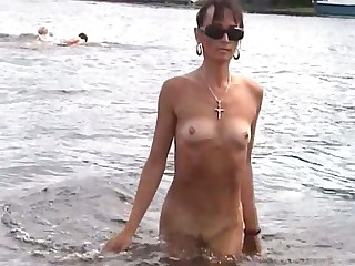 Nudism at its best and these shapely ladies certain love nude beaches