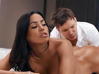 Luna Star Latina Milf Anal Massage