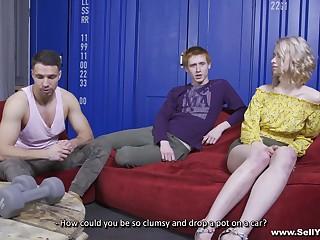 Hot ass blonde girlfriend Clockwork Victoria fucked by a stranger