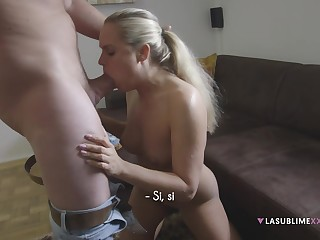 Czech hottie Barra Brass strives in the matter of strike casting agent with a hot blow
