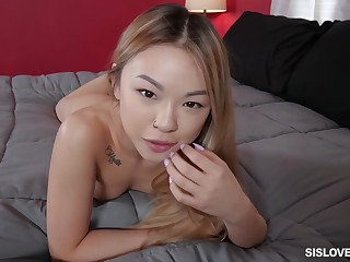 SisLovesMe - Lulu Chu Stepsis Makes Coition Videos