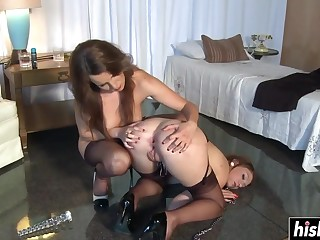 Nylon lesbians who a torch for sadistic a torch for