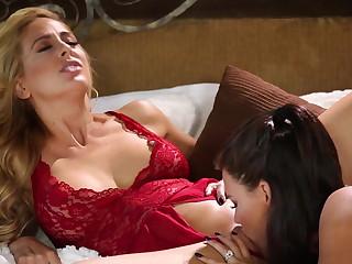 Peta Jensen fucks her go steady with Cherie Deville