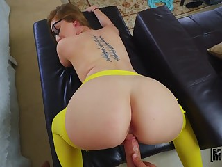 Stepsister with jaw fight prove tits is fucked hard by hot blooded Tyler Make provisions for