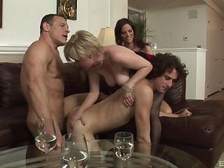 Nude matures fucked away from team a few bi-sexual males